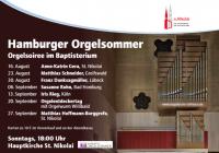 HAMBURGER ORGELSOMMER 2020 in St.Nikolai:  ORGELENTDECKERTAG mit ORGELWURM WILLIBALD