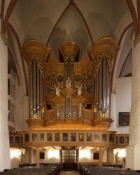 Orgelkonzert J.S.BACH:  LEIPZIGER CHORÄLE BWV 651-668 * An der ARP-SCHNITGER-ORGEL: GERHARD LÖFFLER