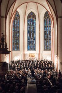 CHORKONZERT  Claudio Monteverdi: MARIENVESPER * Vokalensemble St.Jacobi * Himlische Cantroey * Lautten Compagney Berlin
