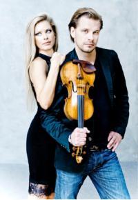 HAMBURGER SERENADENKONZERTE * KIRILL TROUSSOV, Violine * ALEXANDRA TROUSSOV, Klavier * SABINE GROFMEIER, Klarinette & Moderation
